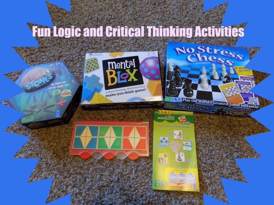 fun critical thinking activities