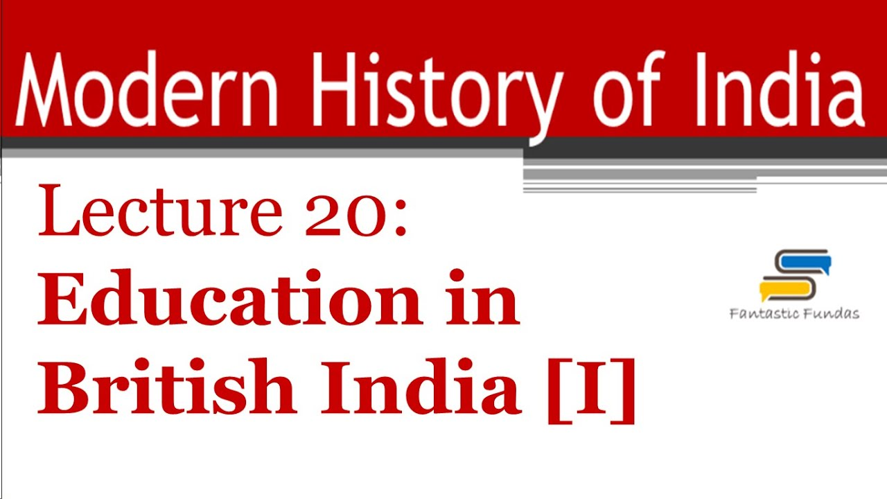 Modern education in India