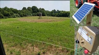 Hot Zone Deer Ex-closure fences Update; Project 211 & Home 06-16-18