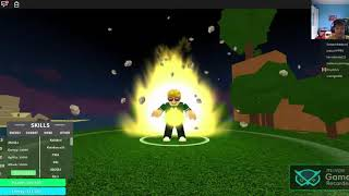 todas as minha tranformaçoes no dragon ball rege no roblox # 127 do canal