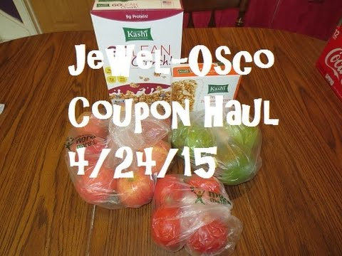 Jewel-Osco Coupon Haul 4/24/15 ~ Organic Produce & Kashi $1.09