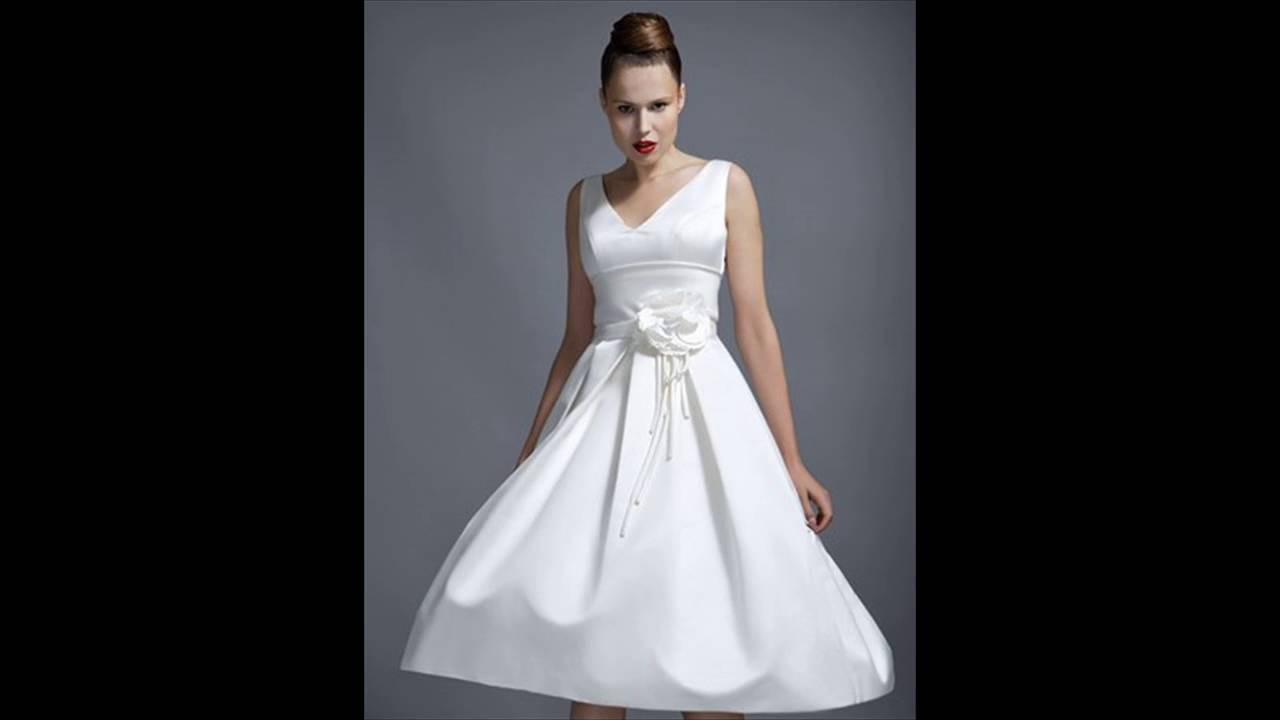 Cheap Short Wedding Dresses Youtube