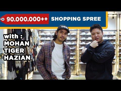MOHAN HAZIAN Belanja HYPE LEBIH DARI IDR 100,000,000 ❤️ #ShoppingSpree