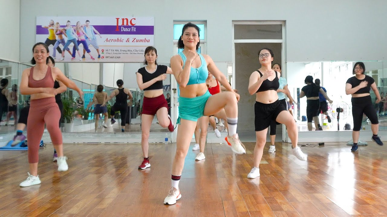 Aerobic Class - 40 Minutes Full Body Workout   Fantastic Method to Loss Weight   Eva Fitness