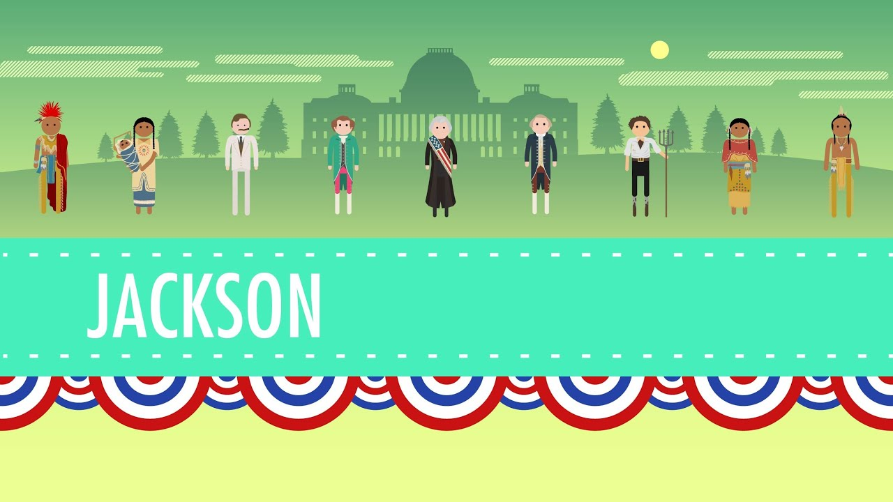 medium resolution of Age of Jackson: Crash Course US History #14 - YouTube