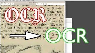 Texterkennung an Deutscher Fraktur Schrift