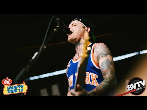 "The Amity Affliction - ""This Could Be Heartbreak"" LIVE! @ Warped Tour 2018"
