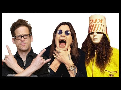 The Story of Buckethead, Ozzy Osbourne & Jason Newsted