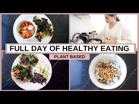 What I Eat in a Day   Plant Based