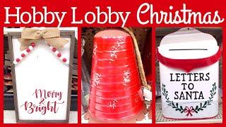 HOBBY LOBBY CHRISTMAS DECOR 2019