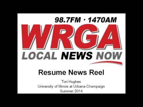 Radio News Reel from Rome's WRGA