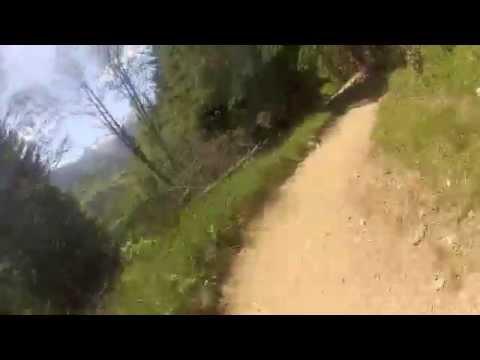 Saalbach Bike Park Blue Line Youtube