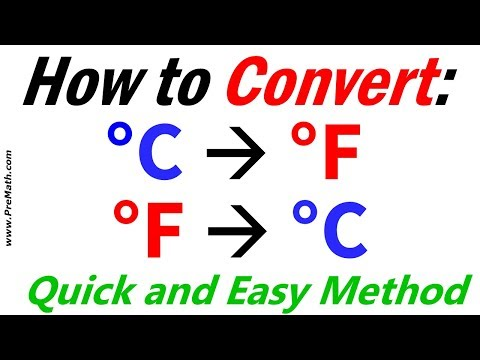 How To Convert From Fahrenheit To Celsius And Celsius To Fahrenheit - Quick And Easy Method