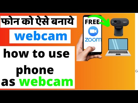 How To Use Droidcam on PC 2021   Droidcam Wireless Webcam,USB (hindi)