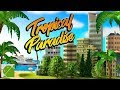 Tropical Paradise: Town Island City Building Sim - Android Gameplay HD
