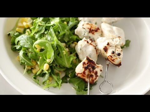 Marinated Chicken Kebabs and Corn Salad | Everyday Food with Sarah Carey