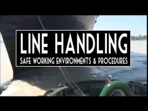 Line Handling - Safety while handling mooring lines at sea!!  || The Shipping Community