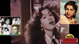 LATA JI-Film-BADAL-{1951}~ Do Din Ke Liye Mehmaan Yahan~[ Special Tribute ]