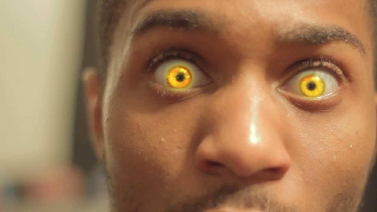 yellow eyes - photo #25