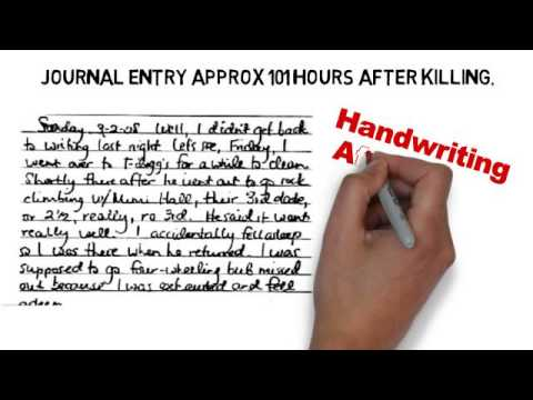 Jodi Arias Handwriting Analysis Excerpt by Deborah Dolen