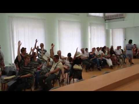 Скандал на общественных слушаниях в Саратове