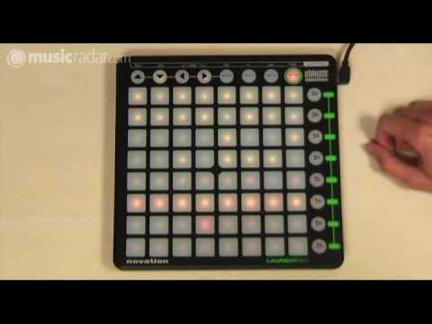 Novation Launchpad Ableton Live controller hands-on