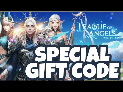 LEAGUE OF ANGELS Paradise Land Gameplay Android Special Gift Code [CLOSED]
