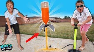 Soda Rocket MOD Adventure For Kids!