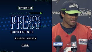 Quarterback Russell Wilson Divisional Press Conference | 2019 Seattle Seahawks