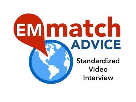 EM Match Advice: Standardized Video Interview