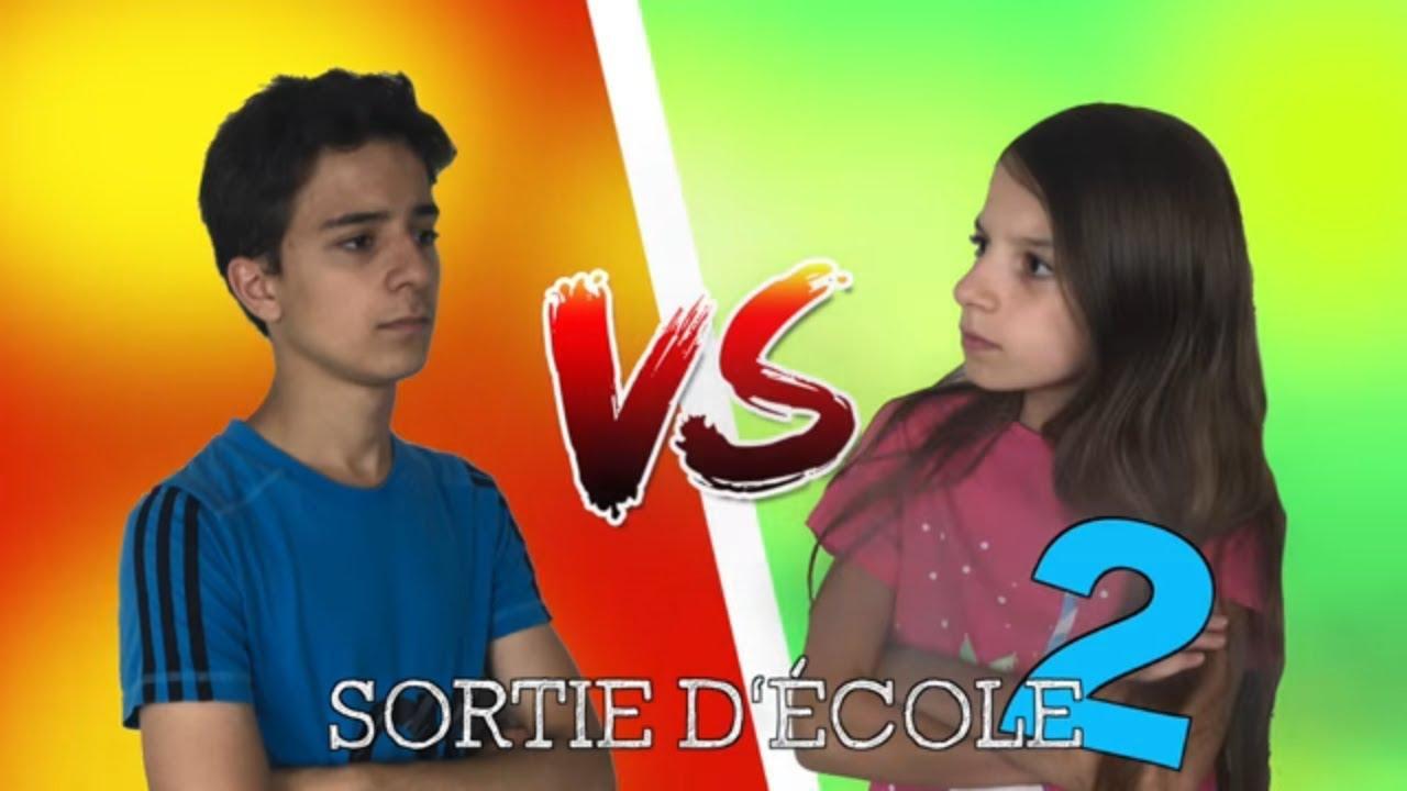 SORTIE D'ÉCOLE 2 !!! École VS école à la maison // Lévanah&Family