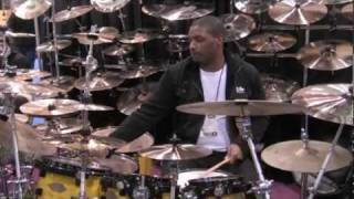 Soultone cymbals - Teddy Campbell at NAMM 2010