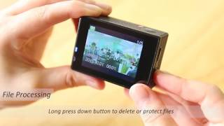 How to use Crosstour Action Camera CT7000
