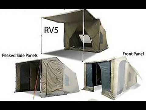 OzTent RV5 Deluxe Side Walls and Deluxe Front Wall Demo and Review