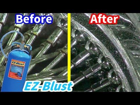 EZ-Blustで塗装!サビ!汚れ!落ちまくる!