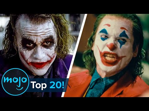 Top 20 Greatest Joker Moments Ever