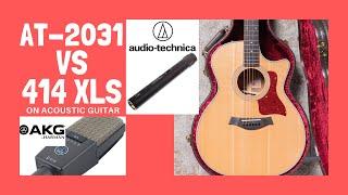 AKG 414 XLS Vs AT2031 - Acoustic Guitar