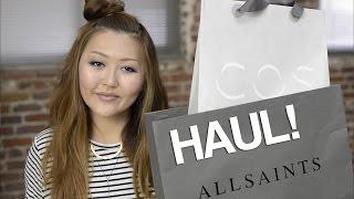 Haul! ALLSAINTS, COS, H&M, UNIQLO, ZARA Thumbnail