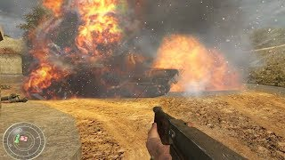 Call of Duty 1 Remastered Gameplay - World at War Mod