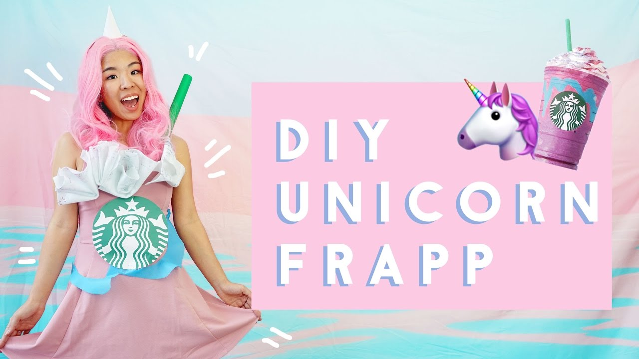 diy starbucks unicorn frappuccino costume youtube diy starbucks unicorn frappuccino costume solutioingenieria Choice Image
