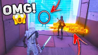 my FRIEND went out of the map to help me... (Scammer Gets Scammed) In Fortnite Save The World