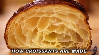 How Croissants Are Made Tasty
