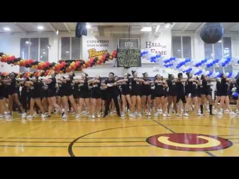 Cupertino Senior Group Homecoming Dance Class of 2017