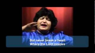 Abida Parveen Sings Bulleh Shah (english subtitles)