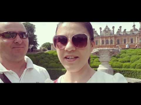 Castelul Waddesdon Manor vlog de calatorie 28 May 2017