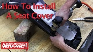Motorcycle Seat Cover Install