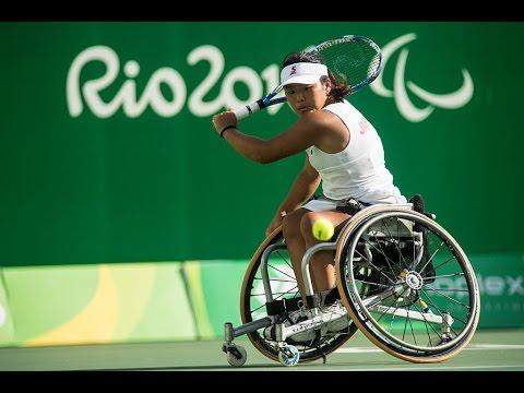 Wheelchair Tennis | Van Koot v Kamiji | Women's Singles Semi-finals | Rio 2016 Paralympic Games