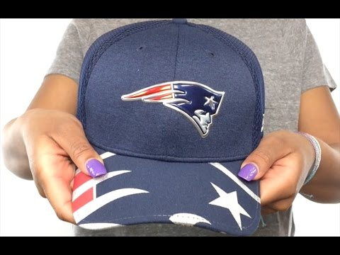 Patriots  2017 NFL ONSTAGE FLEX  Hat by New Era - YouTube 5fda1b875