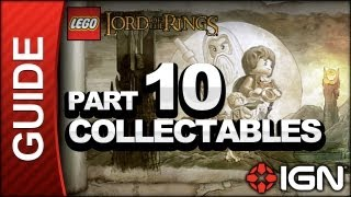 LEGO The Lord of the Rings Collectables Walkthrough Part 10 - Warg Attack