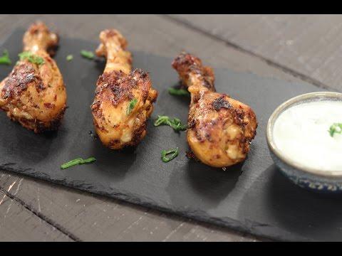 Best way to cook spicy chicken drumsticks and thighs